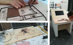 Prototypage de la maquette tactile et numérique