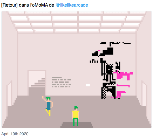 L'expérience sociale proposée dans l'oMoMa. Source : Muzeodrome #25